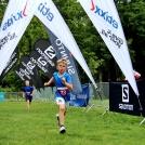 Zwycięzcy biegów dzieci i młodzieży podczas TriCity Trail